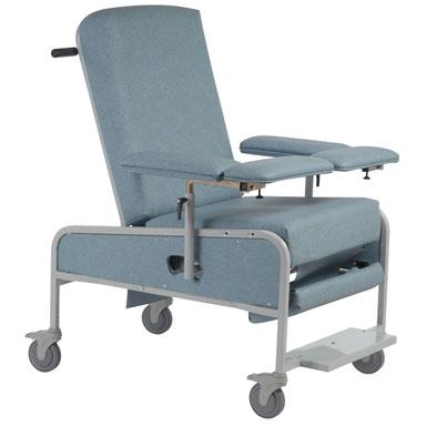 Wondrous Reclining Blood Drawing Chair Xl Custom Comfort Medtek Inzonedesignstudio Interior Chair Design Inzonedesignstudiocom