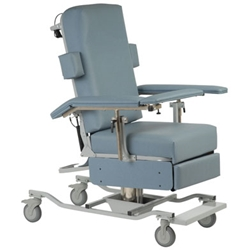 Height Adjustable Reclining Chair Answer all of your medical needs with a Reclining Blood Draw Chair from Custom Comfort Medtek. With its adjustable arms and seat height, its ideal for anyone. Click now!