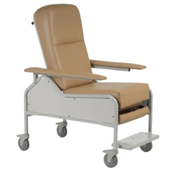 Recliner We provide MC1227 medical recliners for simply resting to a comfortable seating area for extended medical procedures. Buy online at Custom Comfort Medtek!