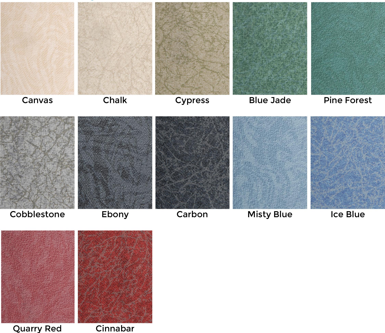 Custom Comfort Vinyl Colors - Premium