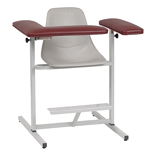 Contoured Seat Blood Draw Chairs