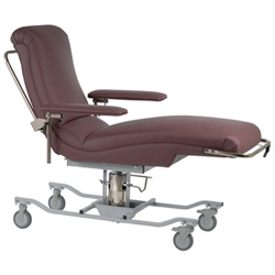 Height Adjustable Blood Donor Beds