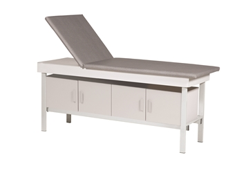 Adjustable Back Exam Table with Cabinet