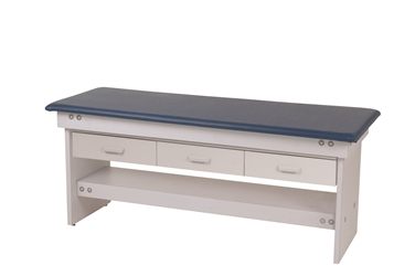 Bariatric Exam Table  with 3 Drawers