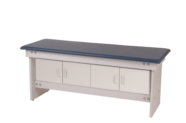 Laminated Exam Table  with Cabinet