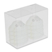 Clear Acrylic Single Face Mask and Safety Apparel Dispenser - CCI600-SAD/1