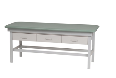 Exam Table with 3 Drawers
