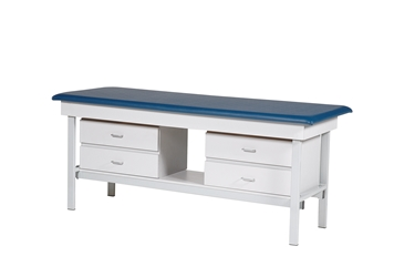 Exam Table with 4 Drawers
