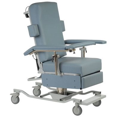 Height Adjustable Reclining Chair ...  sc 1 st  Custom Comfort Medtek & Phlebotomoty Chair u0026 Reclining Blood Draw Chair | Custom Comfort Medtek