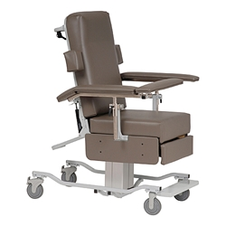 Power Height Adjustable Reclining Chair Custom Comfort Medtek carries the widest range of adjustable reclining chairs including our Power Height Adjustable Reclining Chair. Click here now to view!