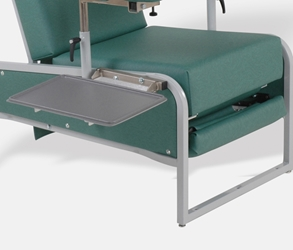 VM5000 Folding Trays medical relining chair, relining chair folding trays.