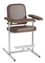Narrow Tall Height Blood Draw Chair