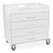 Extra Wide Compact Locking Cart - 41040-SC