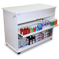Island 4 Foot Lab Cart