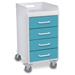 Compact Locking Cart - 51080-SC