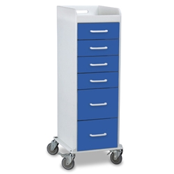Tall Locking Drawer Cart