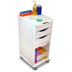 Space Saving Lab Cart