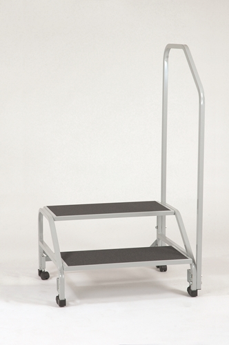 Bariatric 2 Step Stool With Hand Rail Cci1000 X
