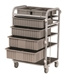 PPE Supply Cart - Wide/Lockable - GN1058J
