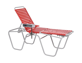 Portable Donor Bed - Red/Grey